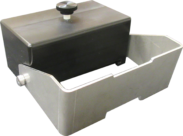 Slide Block with Rotating Stop Arm